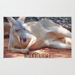 What's Up? Kangaroo Rug