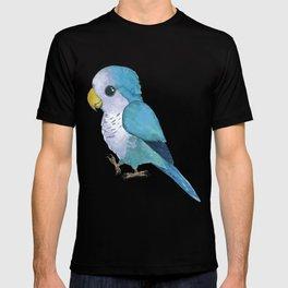Very cute blue parrot T-shirt