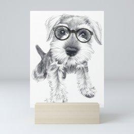 Nerdy Schnozz Mini Art Print