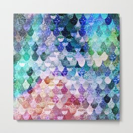 REALLY MERMAID FUNKY Metal Print