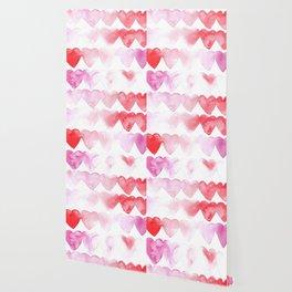 Abstract Hearts Wallpaper