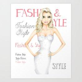 Fashion & Style Cover Art Print