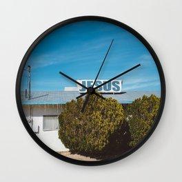 Desert Church Wall Clock