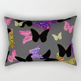 The Unseen Butterflies Rectangular Pillow