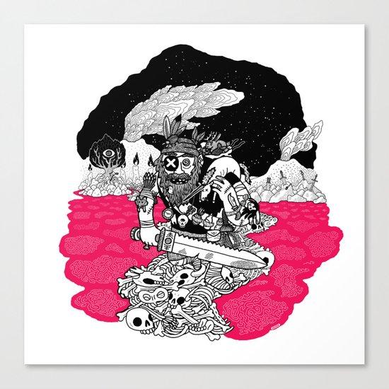 The Taxidermist Canvas Print