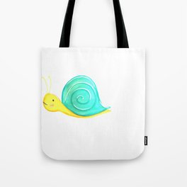 snail baby Tote Bag