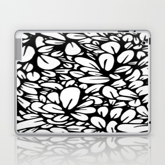 Crazy Flowers Laptop & iPad Skin