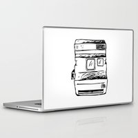 polaroid Laptop & iPad Skins featuring polaroid by brittcorry