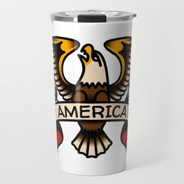 America Eagle Travel Mug