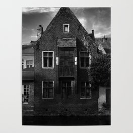 shot on iphone .. canal house Poster