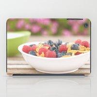 breakfast iPad Cases featuring Breakfast by Yolanda Méndez