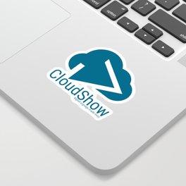 CloudShow (blue logo) Sticker