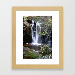 Elakala Falls Framed Art Print