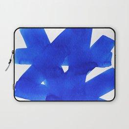 Superwatercolor Blue Laptop Sleeve