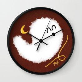 Happy Little Ghost II Wall Clock