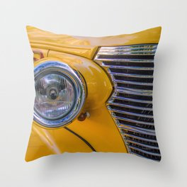 front of a 1940 chevrolet car Throw Pillow