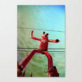 Attack of the 50ft Muffler Man Canvas Print