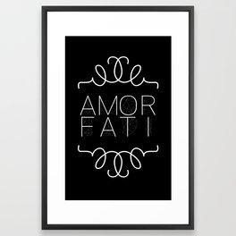 Amor Fati Framed Art Print