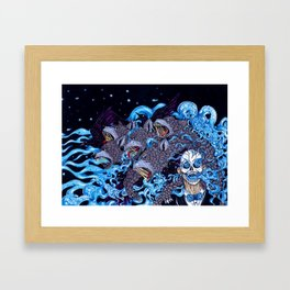 The Cleansing Framed Art Print