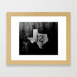 Texas Ranch Road 12 Framed Art Print