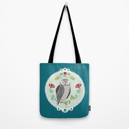 Piccola Damigella Gufo Tote Bag