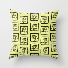 Square by Caleb Croy Throw Pillow