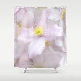 Soft Flora Shower Curtain