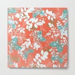 adrienne coral Metal Print