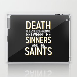 Death Doesn't Discriminate Laptop & iPad Skin
