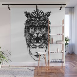 WolfGirl Second Wall Mural
