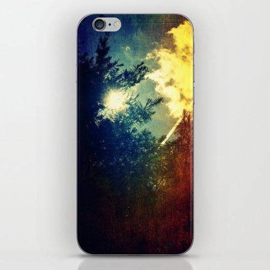 Dreaming in Color (of My First Flight) iPhone & iPod Skin