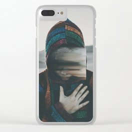 Spiritual Warrior Clear iPhone Case