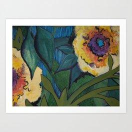 Flower- watercolor Art Print