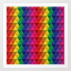 Color Me a Rainbow Art Print