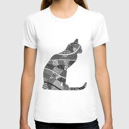 Sitting Cat T-shirt