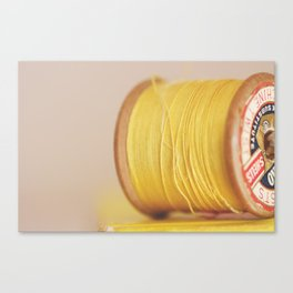 y is for yellow Canvas Print