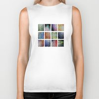mosaic Biker Tanks featuring mosaic by Digital-Art