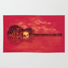 Musical Sunset Rug