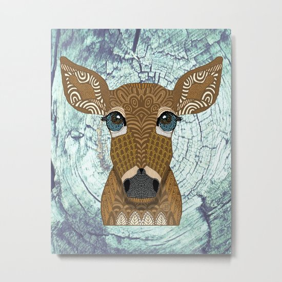Doe eyed Metal Print
