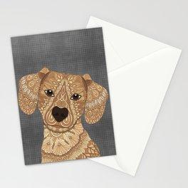 Dachshund - Fawn Stationery Cards