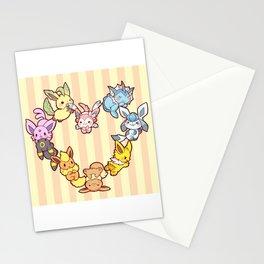 Eeveelution Stationery Cards