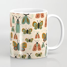 Minty butterflies Coffee Mug