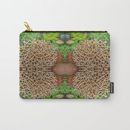 Happy Awesome Pixel Mandala #7 Carry-All Pouch