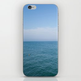 Floating to Blue iPhone Skin