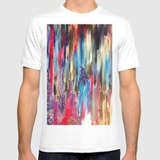 Passing Me By White Mens Fitted Tee SMALL