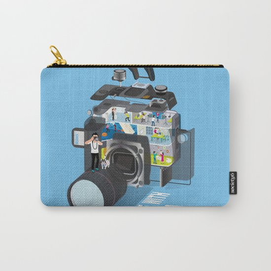 A life with camera Carry-All Pouch