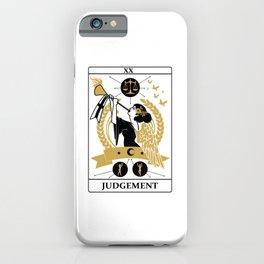 Judgement iPhone Case