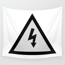 electric current danger signal Wall Tapestry