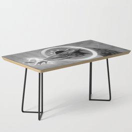 Leaned In Coffee Table