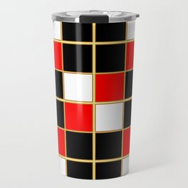 Red & Black Travel Mug